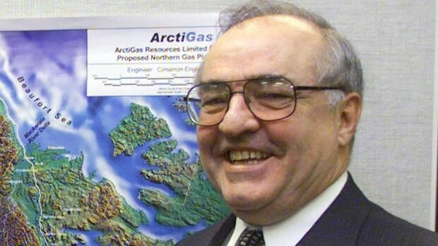 Former federal Conservative cabinet minister Harvie Andre is seen in 2002, when he was chairman of Calgary's ArctiGas.