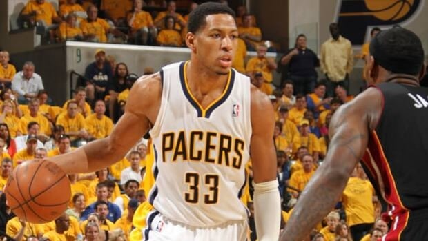 Danny Granger (33) averaged 18.7 points in 62 appearances for the Pacers last season.