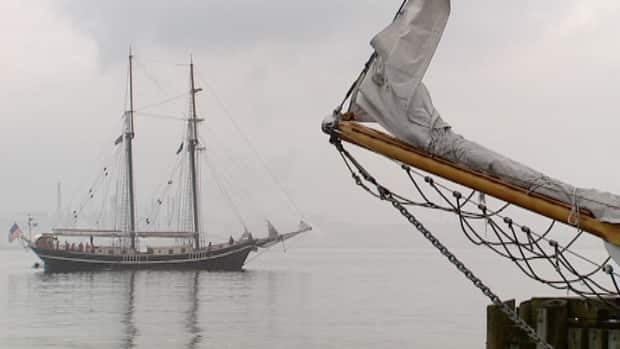The Unicorn, an all-female crewed ship, was the first to sail into Halifax for the festival.