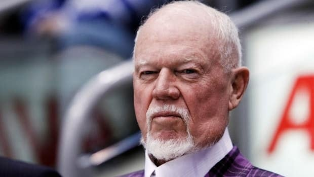 Don Cherry was critical of the Toronto Maple Leafs organization Tuesday over its treatment of prospect Nazem Kadri.