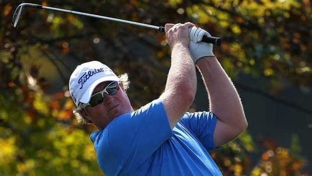 Brad Fritsch of Canada, shown here in October, was the lone Canadian to finish among the top-25 on Monday.