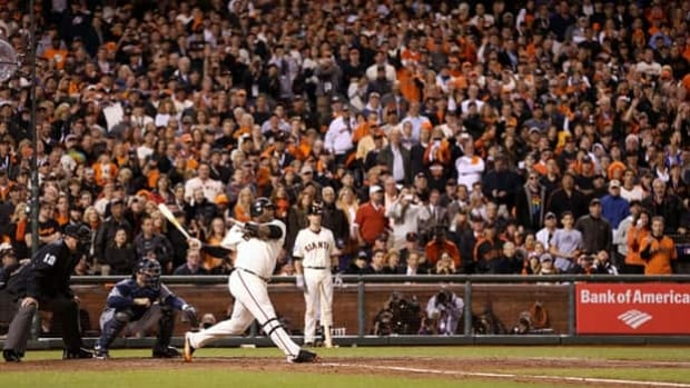Pablo Sandoval was money in the bank in Game 1, clubbing three home runs for the Giants.