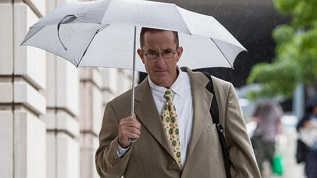 Brian McNamee, shown arriving to the courthouse Monday in Washington, was employed by the Toronto Blue Jays and New York Yankees.