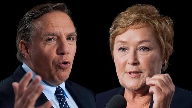 For francophone voters, this election has become a fight between Pauline Marois and François Legault.