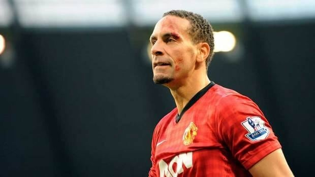 Manchester United's Rio Ferdinand was widely reported to be the focus of a racist tweet during a soccer match.