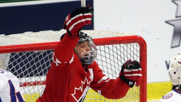 Jayna Hefford scored twice to lead Canada to a tournament-opening 6-0 win over host Finland at the Four Nations women's tourney on Tuesday.