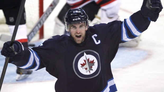 Winnipeg Jets' Captain Andrew Ladd is looking forward to the team's home-opener and hearing the roar of the fans.