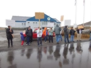 Kuujjuaq housing protest