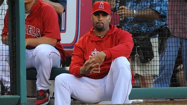 Los Angeles Angeles slugger Albert Pujols spent 11 years with the St. Louis Cardinals.