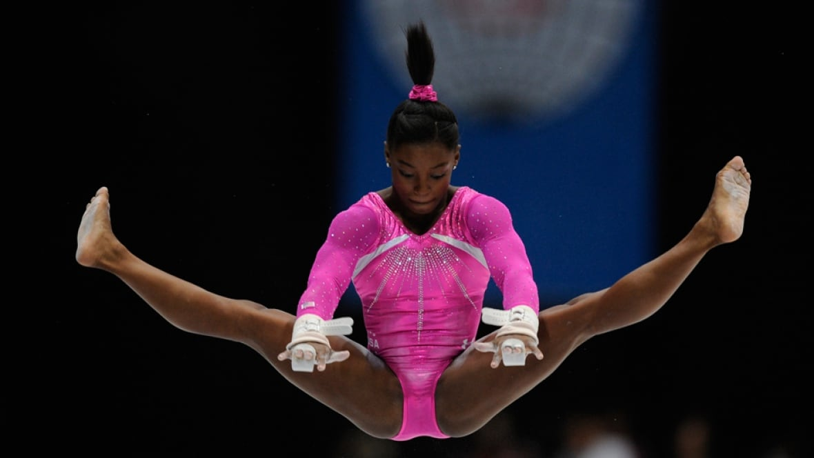 American Teen Biles Wins All Around At Gymnastics Worlds