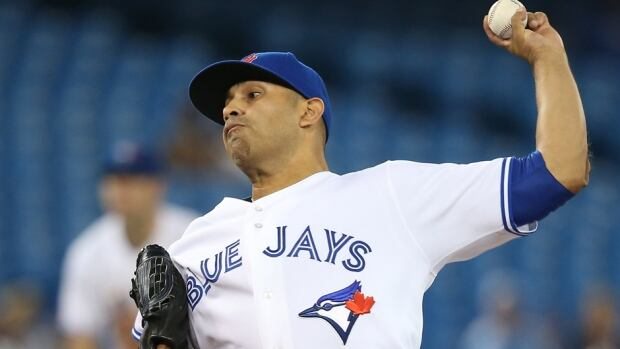 Ricky Romero went 0-2 with an 11.05 earned-run average in four appearances with the Blue Jays this year.