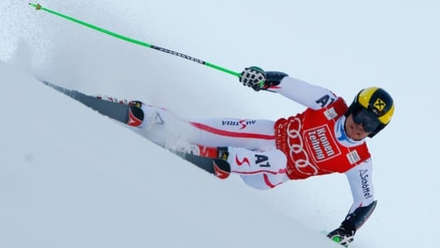 Marcel Hirscher of Austria was named the winner of the Skieur d'Or as top skier on Thursday.