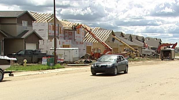 About 100 homes are built in Cold Lake, Alta., each year, not enough to accomodate all the newcomers arriving for the jump in oilfield activity.