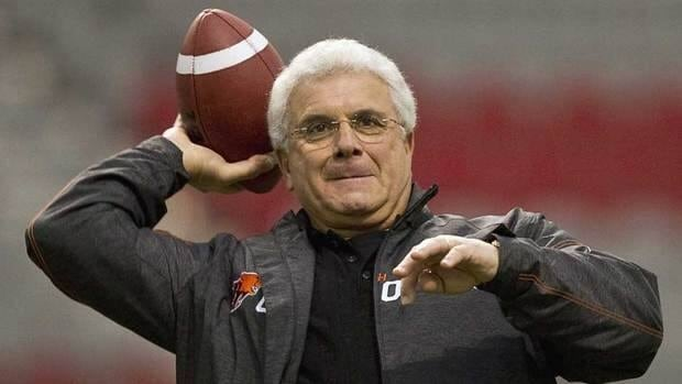 Wally Buono led the B.C. Lions to a Grey Cup title despite opening the season at 0-5.