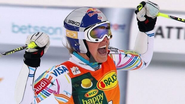 Lindsey Vonn of the United States is awaiting approval by skiing's governing body to start in the men's downhill in Lake Louise next month.