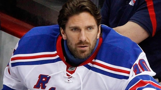 Goalie Henrik Lundqvist will step on the ice in storm-damaged Atlantic City, N.J., on Saturday along with Rangers teammates and foes from the Flyers to help Hurricane Sandy victims.