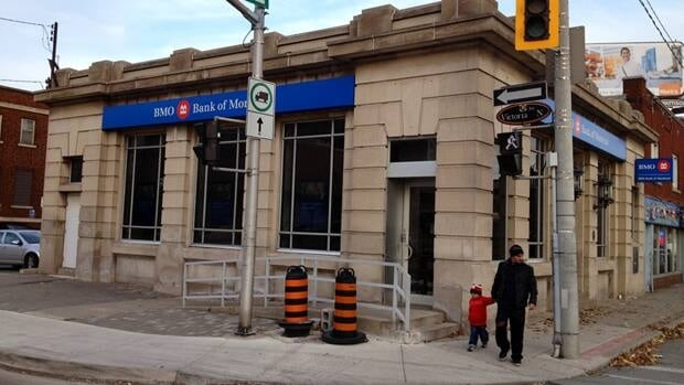 The Bank of Montreal has been on the corner of Barton and Victoria for more than a century. The reign ends soon.