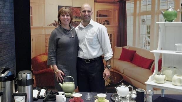 Hatem Jahshan and his wife Tonia started the loose-leaf tea business Steeped Tea six years ago.