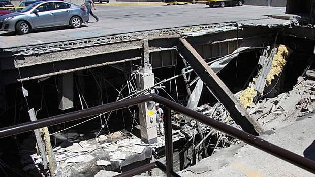 Over six months ago Elliot Lake declared a state of emergency after the roof of the mall caved in on June 23 and killed two people.