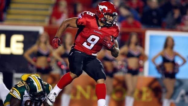 Stampeders' Jon Cornish needed just 53 yards in the game to join Norm Kwong, Gerry James, Ron Stewart, Bob Swift, Orville Lee, Sean Millington and Jerome Messam as other Canadians to run for 1,000.