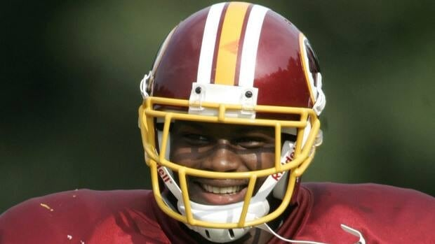 Washington Redskins safety Sean Taylor, shown here in 2005, was killed during a Miami burglary in 2007.