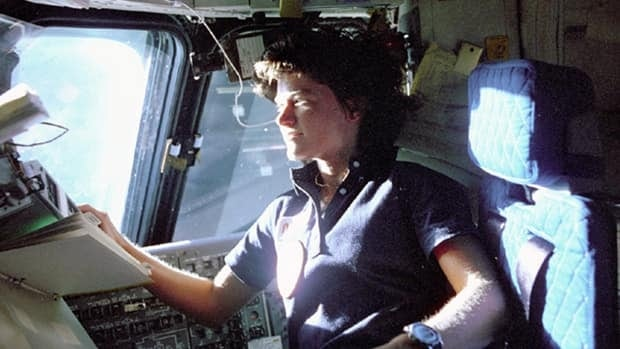 Sally Ride, the first female U.S. astronaut in space, posthumously revealed her battle with cancer and her long-time partnership with a woman on her website Monday.