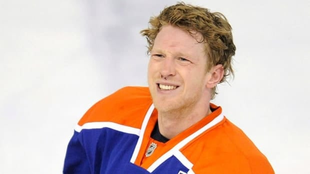 Oilers forward Ales Hemsky was the subject of a controversial tweet from the Calgary Flames' official account on Thursday.