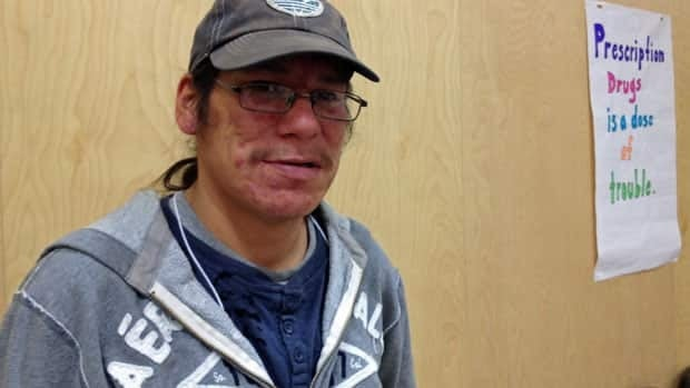 "Perry Towegeshig from Long Lake 58 First Nation used suboxone to kick his prescription drug addiction. ""If you want to stay high, you might as well just go onto methadone, he says."
