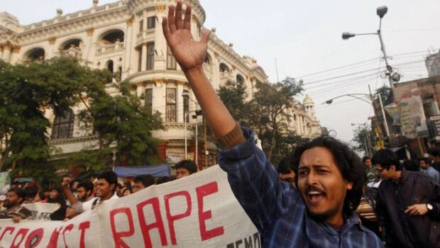 A number of protests demanding action to curb violence against women, including this one in Calcutta on Dec. 27, have sprung up across the country after the brutal rape of a 23-year-old woman on a bus in New Delhi.