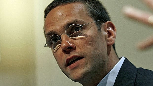 News Corporation CEO James Murdoch, son of media mogul Rupert.