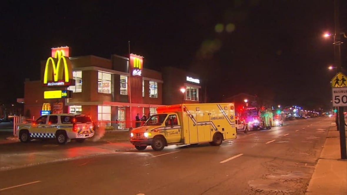 two men stabbed in mcdonald s in villeray montreal news
