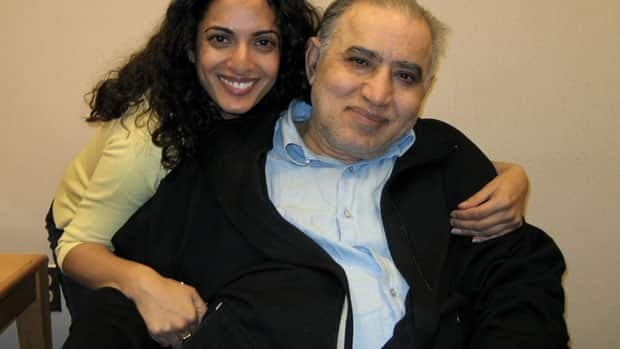 Lina Dhingra is shown visiting her father Ved Dhingra in 2008 at the former Whitby Psychiatric Hospital, where he was confined after being found not criminally responsible for his wife's murder.