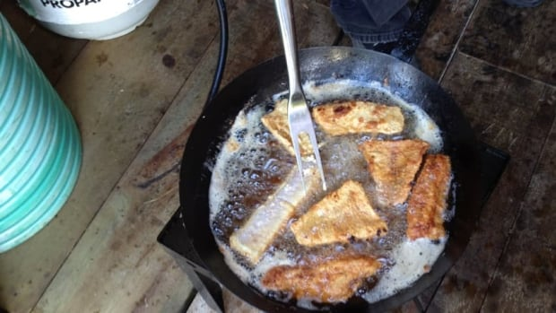 Fish is a staple diet for the people of Grassy Narrows, whose own waters and fish have been contaminated with mercury.