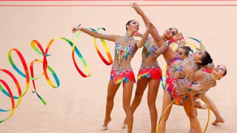 Russia sweeps rhythmic gymnastics golds   CBC Sports