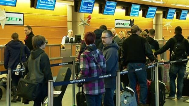 More than 50,000 people are expected to take flights out of Calgary on Friday.