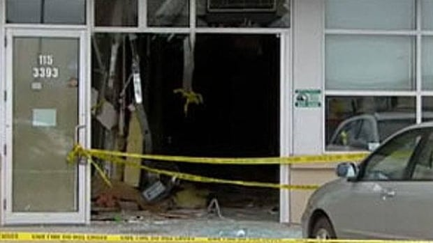 A Jeep crashed through the Ultracuts hair salon where Kendall Wiebe was working on April 7.