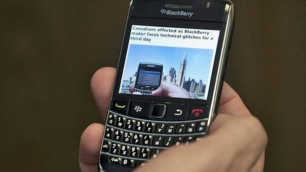 Millions of BlackBerry subscribers were affected by the outage earlier this month.