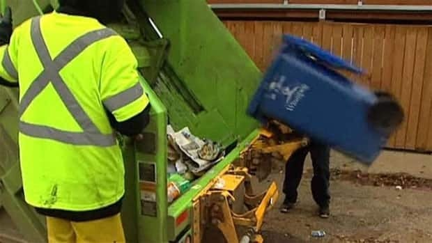 Emterra's garbage and recycling service has been heavily criticized for failing to meet pickup dates.