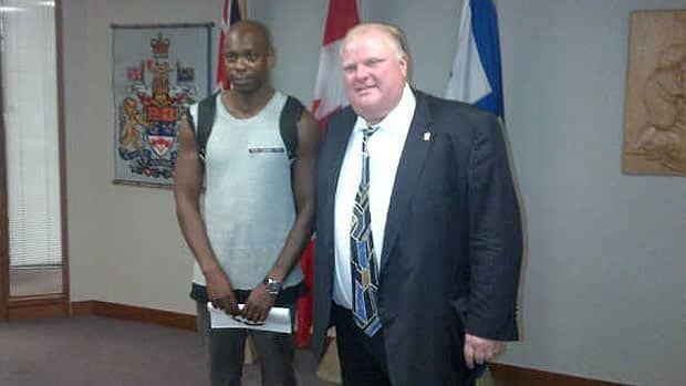 Toronto Mayor Rob Ford met briefly with comedian Dave Chappelle at city hall on Thursday.