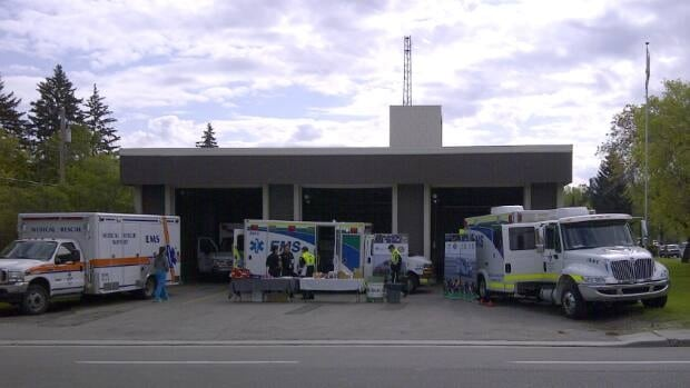 A northwest emergency services centre opened its doors Saturday as part of EMS Awareness Week.
