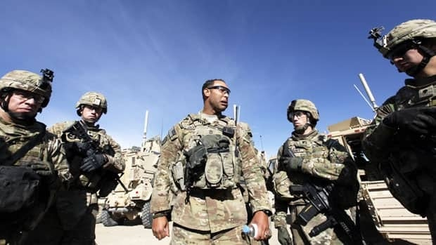 U.S. troops hold a briefing session before a mission in Wardak province, eastern Afghanistan on Nov. 16, 2011. Umit Bektas/Reuters