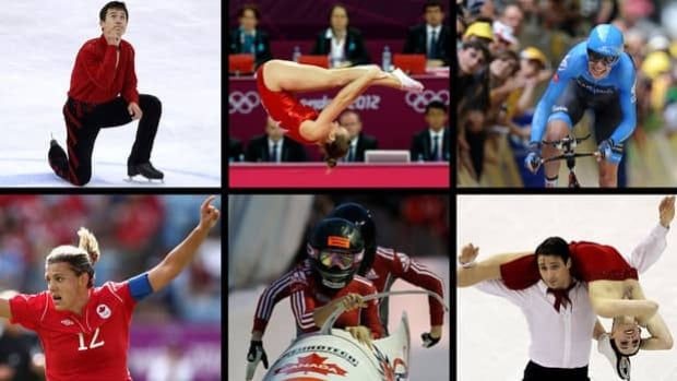 There is no shortage of outstanding candidates for fans to vote for as Canada's 2012 Athlete of the Year.