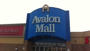Avalon Mall front sign