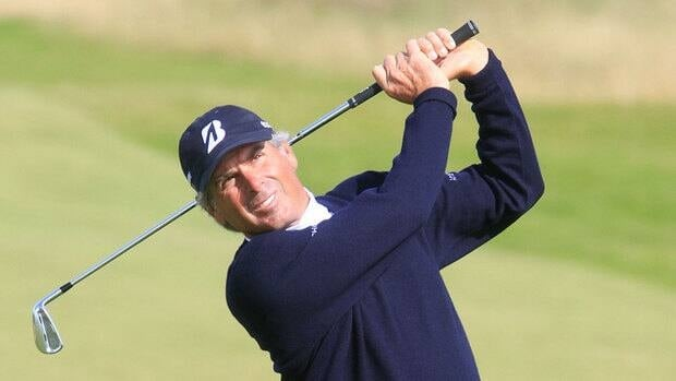 Fred Couples during the third round of the Senior British Open at the Ailsa Course, on July 28, 2012 in Turnberry, United Kingdom.