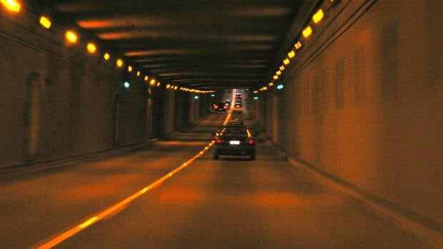 The George Massey tunnel opened in 1959 and forms part of the Sea to Sky Highway.