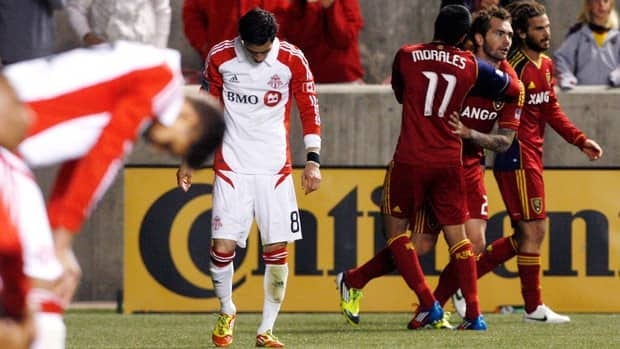 Toronto FC's Eric Avila (8) says players and coaches met Monday to air things out.