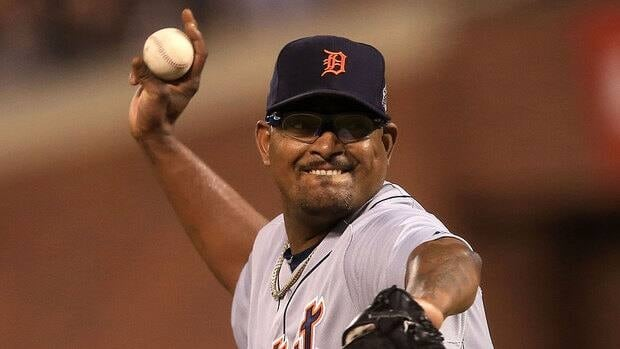 "Tigers closer Jose Valverde says Detroit and San Francisco are the two best and hottest teams in baseball. ""The first two months, you see Detroit is in last place. Chicago, Cleveland, everybody's laughing. What happened now?"""