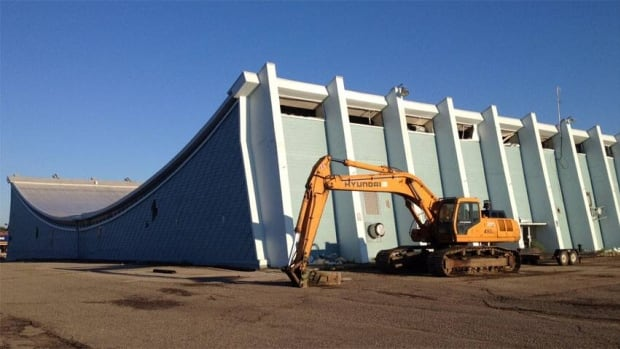 Demolition begins Thursday at the old Moose Jaw Civic Centre arena, home for decades to the Moose Jaw Warriors hockey team.