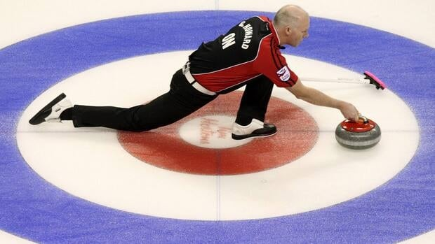 Glenn Howard, shown here competing at last year's Brier, won the Ontario men's curling championship on Sunday to book his spot in the Canadian men's championship this year.