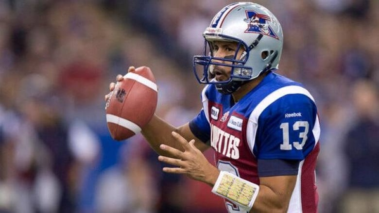 bb0818649 Anthony Calvillo signs for 2 years with Alouettes | CBC Sports